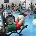 تمرین بدنسازی تیم ملی واترپلو