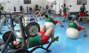 گزارش تصویری - تمرین بدنسازی تیم ملی واترپلو در ایتالیا
