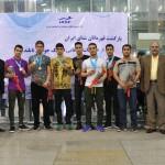 ملی پوشان شنای ایران بعد از پایان مسابقات انتخابی المپیک جوانان تایلند صبح امروز (جمعه) وارد کشور شدند.