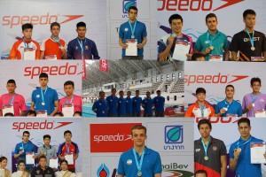 14 مدال و 8 رکورد ورودی المپیک جوانان حاصل کار شناگران ایران در پایان رقابتها