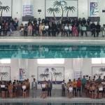 مسابقات شنا استان خراسان جنوبی در راستای طرح توسعه سلامت و نشاط اجتماعی در دو بخش دختران و پسران برگزار شد.