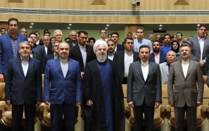 مراسم تجلیل رییس جمهور از قهرمانان ورزشی ایران برگزار شد