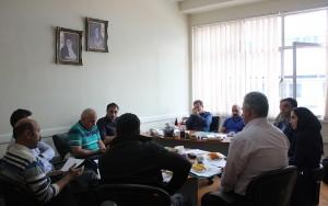گزارش تصویری_ برگزاری جلسه کمیته فنی شنا