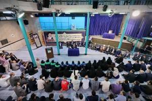 مراسم دیدار جامعه ورزش و جوانان با سیدحسن خمینی برگزار شد