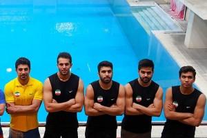 تیم ملی شیرجه ایران در باکو اردو میزند
