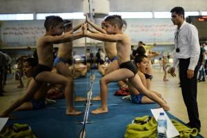 گزارش تصویری(1)_جشنواره توسعه و استعدادیابی شنا رده سنی زیر ۱۴ سال