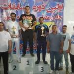 اولین دوره مسابقات واترپلو منطقه سه کشور با عنوان جام رمضان به میزبانی کرمانشاه برگزار شد.