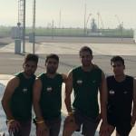 شیرجه رو های ایران در اردو آماده سازی خود به میزبانی شهر باکو روزانه بیش از 5 ساعت مشغول به پیگیری تمرینات خود هستند.