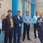 مسئول هیات شنا استان یزد به همراه مدیرکل ورزش و جوانان این استان از روند بازسازی و تجهیز استخر 22 بهمن یزد بازدید به عمل آوردند.