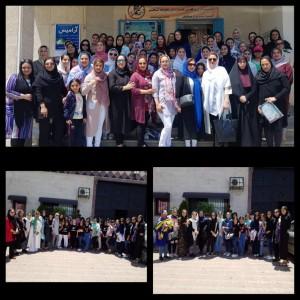برگزاری آزمون ستارههای شنای موزون در استانهای مازندران و گیلان