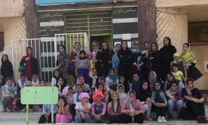 برگزاری مسابقات شنا دختران آبادانی گرامیداشت روز دختر