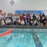 جشنواره شنا به مناسبت بزرگداشت روز جهانی فدراسیون بین المللی شنا در استان بوشهر برگزار شد.