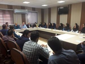 نشست تخصصی استخرهای ورزشی شهرستان قزوین