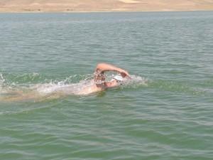 برگزاری رقابتهای شنای آبهای آزاد شهرستان اهر