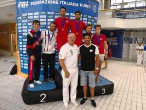 شیرجهروهای ایران در ایتالیا به مدال طلا دست یافتند