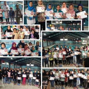برگزاری جشنواره شنا استان قزوین