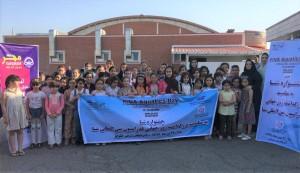 برگزاری جشنواره شنا استان آذربایجان شرقی