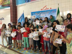 برگزاری جشنواره شنا استان خوزستان