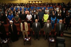 مراسم بدرقه کاروان ایران به بازی های آسیایی برگزار شد