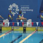در روز ششم و پایانی  مسابقات شنا بازیهای آسیایی جاکارتا انصاری در ماده 50 متر قورباغه با حریفان خود به رقابت خواهد پرداخت.