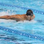 در روز نخست مسابقات شنا بین المللی مالزی مهدی انصاری باثبت زمان 55:24 در 100 متر پروانه در جایگاه چهارم قرار گرفت.