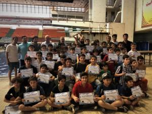 برگزاری جشنواره استعدادیابی و توسعه شیرجه در استخر آزادی