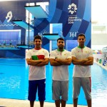 قهرمان شیرحه ایران ساعاتی قبل از شروع مسابقات از ناحیه کمر مصدوم شد.