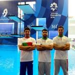 در روز نخست مسابقات شیرجه بازیهای آسیایی جاکارتا  نظرپور و ولیپور با پرش از تخته سه متر هماهنگ  کار خود را آغاز میکنند.