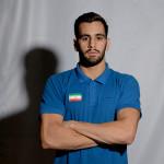 بازیکنان کرمانشاهی تیم ملی واترپلو ایران که یکی از پر تلاش ترین بازیکنان تیم است.