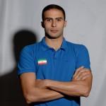 سنگربان اول تیم ملی واترپلو ایران که بعنوان قلب تیم از دروازه ابران محافظت میکند.