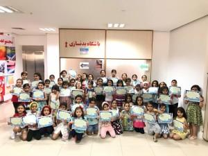 برگزاری جشنواره شنا دختران زیر 8 سال استان فارس