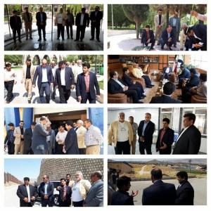 گزارش تصویری_ بازدید مسئولان فدراسیون از استان ایلام