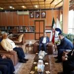مسئولان فدراسیون شنا ایران در حاشیه بازدید از استان ایلام با استاندار این استان دیدار کردند.