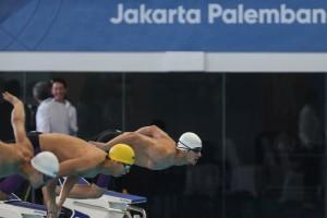 گزارش تصویری_روز نخست مسابقات شنا بازیهای آسیایی جاکارتا