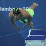 در روز سوم مسابقات شنا بازیهای آسیایی جاکارتا غلامپور و قرهحسنلو در ماده 50 متر آزاد با حریفان خود به رقابت پرداختند.