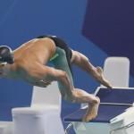 مهدی انصاری نماینده شنا ایران در ماده ۵۰ متر قورباغه با زمان ۲۹:۳۵ در بازی های آسیایی به کار خود پایان داد.