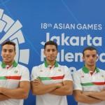 در روز پنجم مسابقات شنا بازیهای آسیایی جاکارتا، انصاری در ماده 50 متر پروانه و غلامپور و قرهحسنلو در 100 متر آزاد به آب زدند.