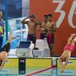 سینا غلامپور در جریان رقابت ملی پوشان ایران در ماده 4 ذر صد متر آزاد تیمی رکورد ملی 100 متر آزاد را بهبود بخشید.