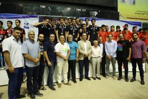 گزارش تصویری _ مراسم اختتامیه مسابقات واترپلو قهرمانی کشور زیر ۱۶ سال
