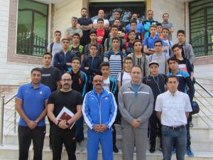 گزارش تصویری_ پیگیری اردو آماده سازی تیم ملی شنا نوجوانان در سمنان