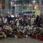 صبح امروز (یکشنبه) تیمهای ملی شیرجه و واترپلو همراه با گروهی از کاروان ورزشی ایران در بازیهای آسیایی جاکارتا وارد تهران شد.