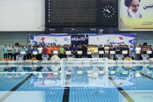 گزارش تصویری(2)_ روز اول مسابقات واترپلو قهرمانی کشور زیر 16 سال