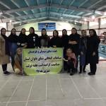 مسابقات شنا انتخابی بانوان استان سیستان و بلوچستان به مناسبت گرامیداشت هفته دولت روز گذشته(شنبه) در محل استخر دهکده المپیک زاهدان برگزار شد.