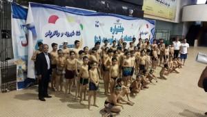 برگزاری جشنواره شنا آکادمی استخر آزادی