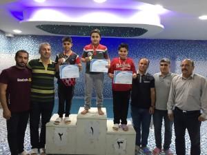 برگزاری مسابقات شنا قهرمانی استان گلستان در بخش دختران و پسران