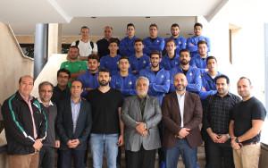 گزارش تصویری_مراسم بدرقه تیم ملی واترپلو جوانان اعزامی به ازبکستان