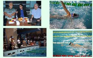 سومین دوره مسابقات لیگ شنای نوجوانان خراسان رضوی روز جمعه در مجموعه آبی شهید هاشمینژاد مشهد برگزار شد .
