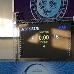 واترپلوئیت های جوان ایران در دومین دیدار از مسابقات قهرمانی جوانان آسیا مقابل ازبکستان میزبان، پیروز از آب خارج شدند.