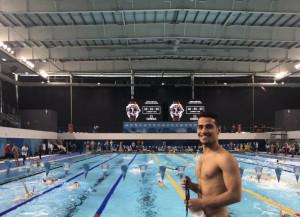 علیرضا یاوری در ماده 100 متر آزاد به کار خود پایان داد