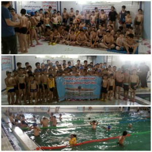 برگزاری جشنواره استعدادیابی شنا پسران اردبیل